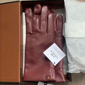 Brand new Coach gloves